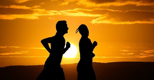 Running, Runner, Long Distance, Fitness, Man, Female