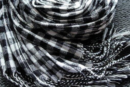 Scarf, Clothing, Grid, Autumn, Winter, Model, Web
