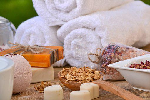 Herbs, Soap, Recreation, Spa, Health, Cosmetics, Towel