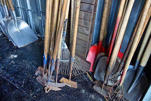 Spade, Tool, Equipment, Gardening, Agriculture