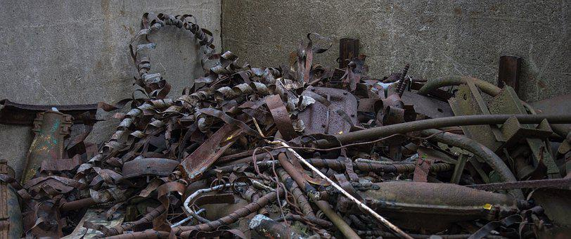 Waste Bins, Industry, Recycling, Old, Scrap