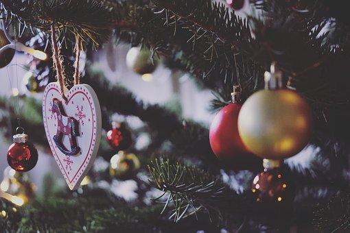 Christmas, Winter, Celebration, Wood, Glitter, Season