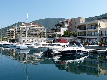 Montenegro, Kotor, Port, Balkan, Adriatic Sea