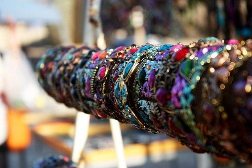 Armlet, Bracelet, Selling, Jaffa, Bazaar