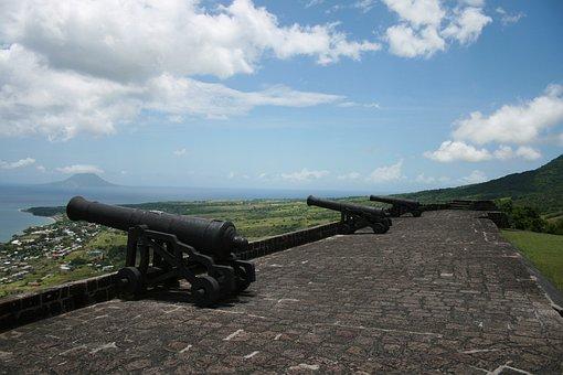 St, Kitts, Nevis, Arms, Caribbean