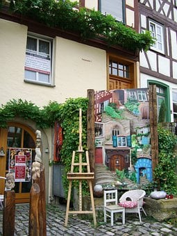 Art Gallery, Easel, Art Objects, Atelier, Art, Images