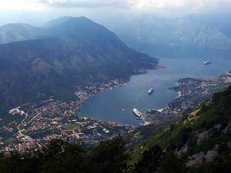 Kotor, Montenegro, View, Balkan, Historic Center