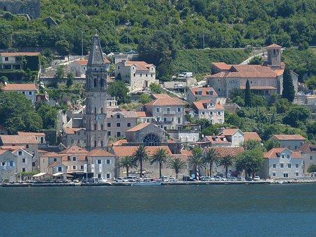 Montenegro, Kotor, Balkan, Adriatic Sea, Mediterranean