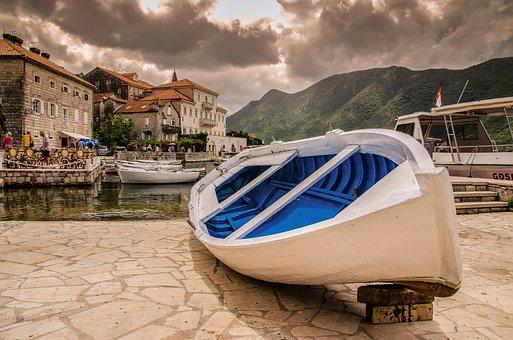 Ship, Balkan, Bay Of Kotor, Boat, Montenegro