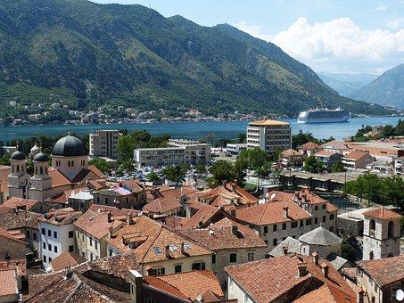 Kotor, Montenegro, Balkan, Old Town, Bay Of Kotor