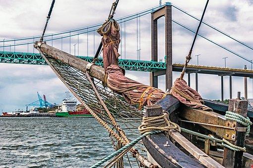 Sailing Boat, Bug, Port, Baltic Sea, Gothenburg, Sweden