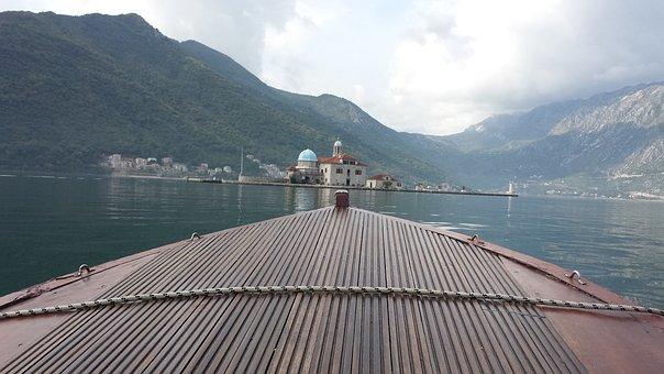 Boat, Sea, Montenegro, Kotor, Bay Of Kotor