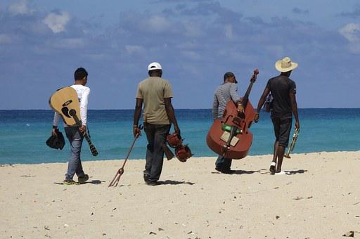 Musician, Instrument, Beach, Music, Joy Of Life