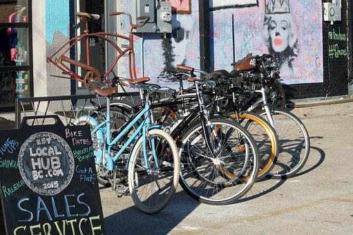 Bicycles, For Sale, Bicycling, Bicyclist, Cycle, Shop