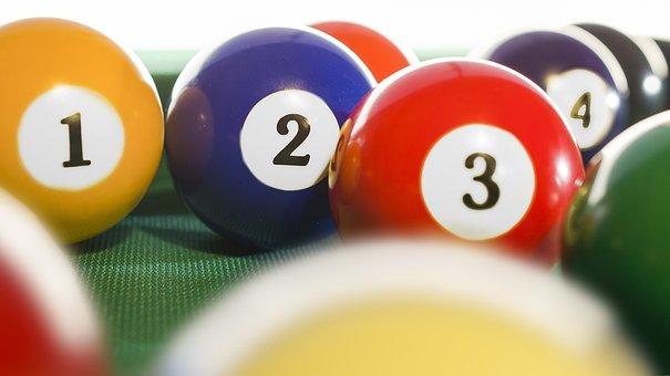 Billiards, Billiard Ball, Snooker Balls, Game