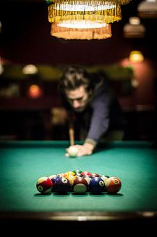 Billiards, Table, Bullet, Game