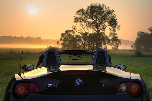 Bmw, Z4, E85, Roadster, Sunrise, Pkw, Open, Rear