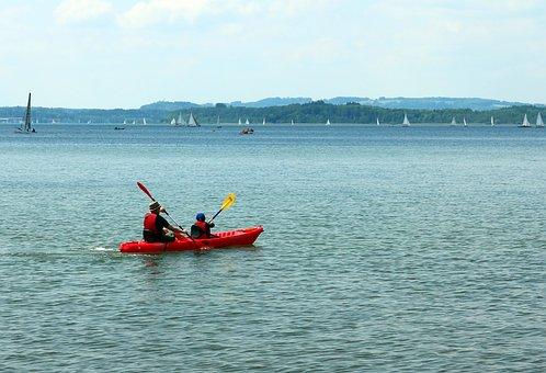 Paddle, Canoeing, Canoeist, Paddler, Boat, Water