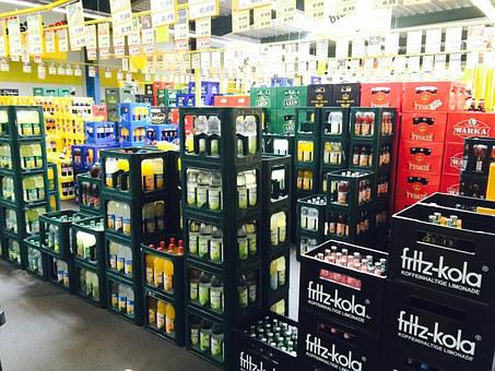 Bottle Store, Soft Drinks, Container, Bottle, Soda