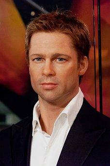 Brad Pitt, Wax, Figure, Actor, Artist, Celebrity
