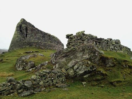 Broch, Carloway, Isle Of Lewis, Scotland, Hebrides