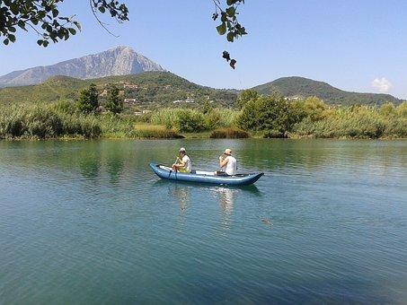 Paddle, Canoeing, Water, Boat, Paddler, Canoeist, River
