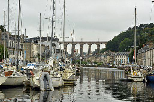 Port, Quay, Boat, Ship, Water, Anchor, Building, City