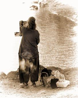 Artist, Lake Tomahawk, Black Mountain, Solitude, Create