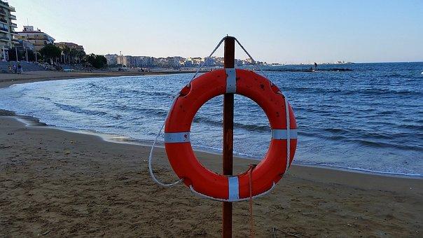 Sea, Crotone, Rescue, Beach, Sunset, Summer