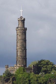 Nelson Monument, Calton Hill, Edinburgh, Scotland