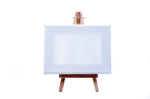 Easel, Frame, Billboard, Blank, Stand, Canvas, Empty
