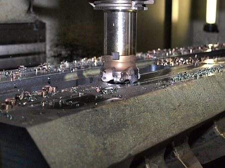Milling, Machining, Cutter Head, Indexable Insert