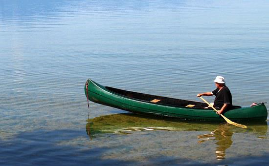 Leisure, Canoeing, Kayak, Paddle, Paddler, Canoeist