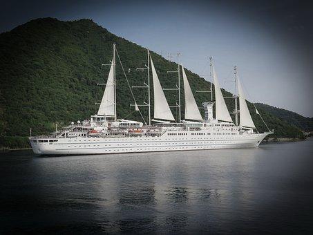 Montenegro, Bay, Kotor, Ship, Sailing Vessel