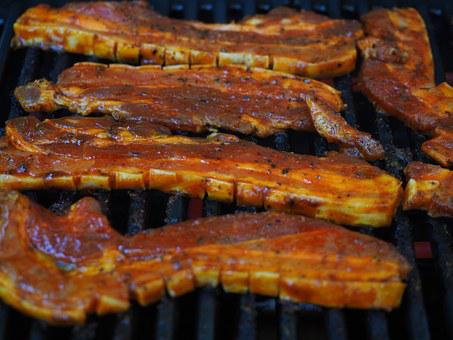 Barbecue, Grill, Grilled Meats, Belly, Marinated