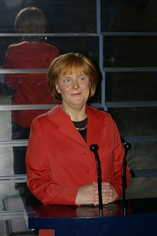 Wax Figure, Merkel, Berlin