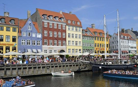 Copenhagen, Nyhavn, Tourist, Attraction, Denmark, Port