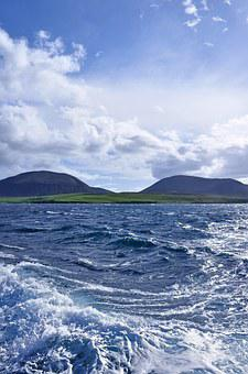 Great Britain, Scotland, Orkney, Bay Of Quoys, Ocean