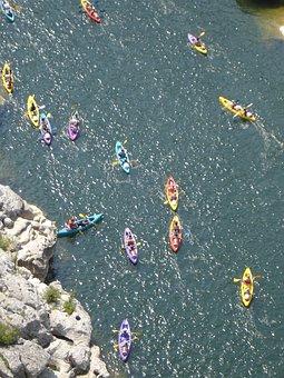 Canoeist, Canoeing, Paddle, Paddler, Boat, Water, River