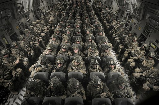 Personnel, Men, Women, Transport, C-17 Globemaster