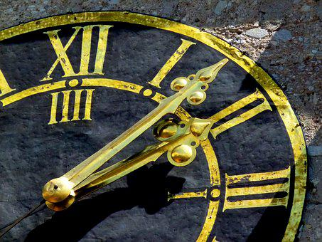 Clock, Dial, Detail, Time, Time Of, Pointer
