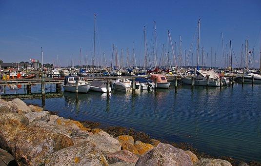 Marina, Sailing Ships, Water, Sea, Port, Ship, Maritime