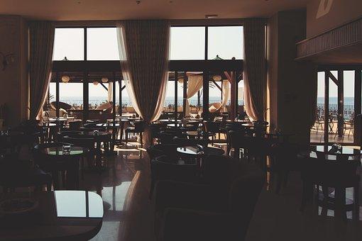 Cafe, Restaurant, Interior, Furniture, Retro, Vintage