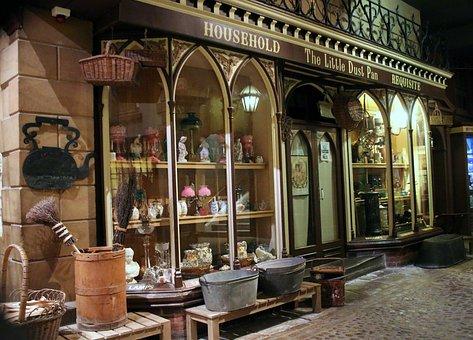 Facade, Shop, Victorian, Retail, Selling, Sales, Goods