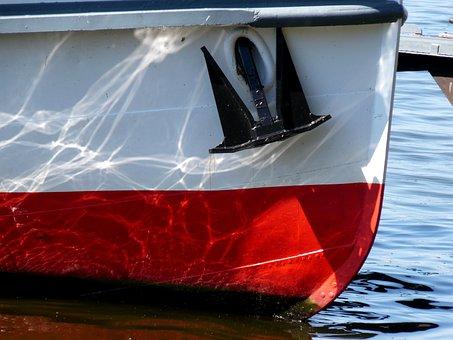 Ship, Passenger Ship, Maritime, Detail, Mood, Anchor