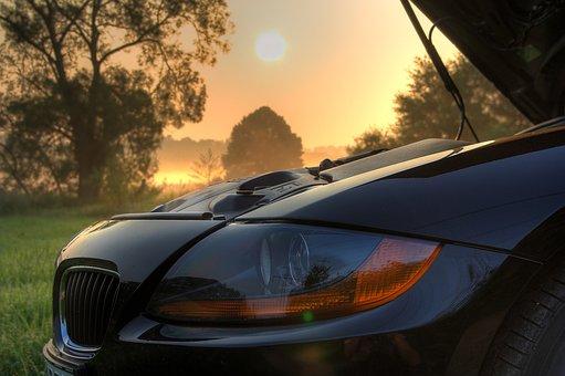 Bmw, Z4, E85, Roadster, Sunrise, Pkw, Open, Hood, Power