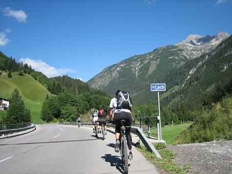 Cycling, Bike, Transalp, Sport, Lech