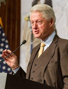 Bill Clinton, President, United States, Speaking