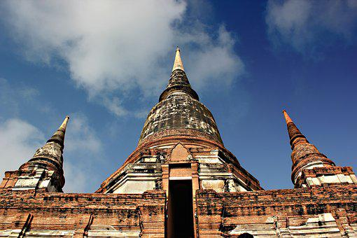 Measure, Thailand, Ayutthaya Old, Architecture