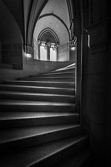 Bojnice Stairway Spiral, Bojnice Stairs, Bojnice, Lock